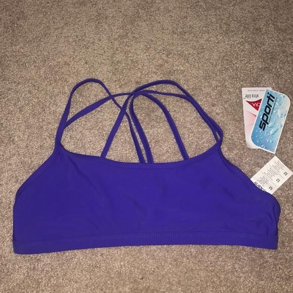 sporti Other - Purple Workout Bikini Top